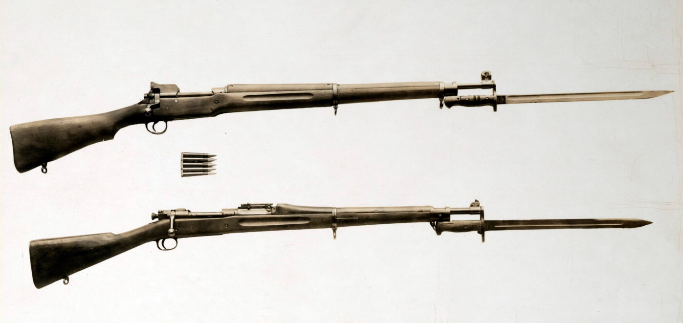M1917 vs. M1903 rifle