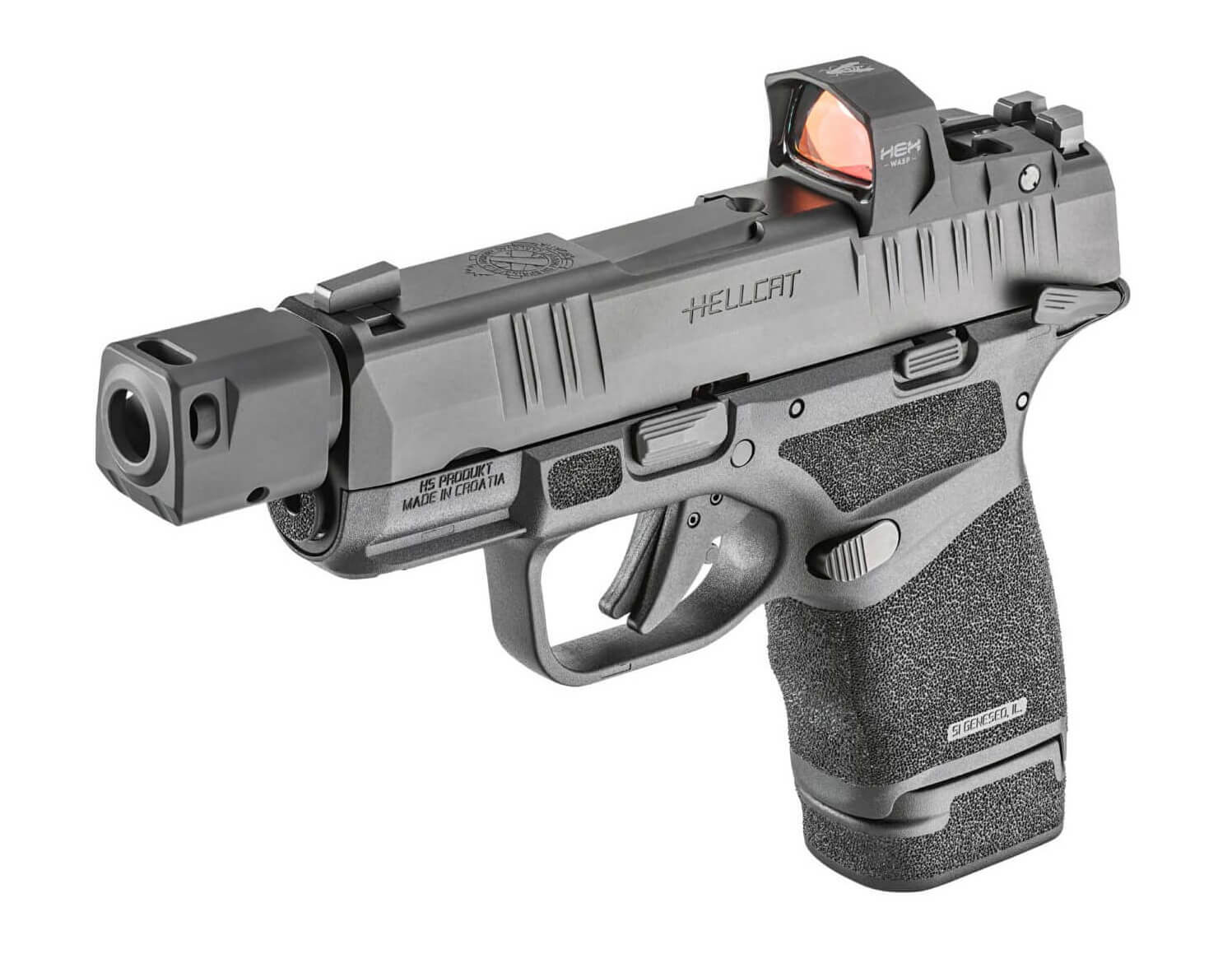 Hellcat pistol with manual safety