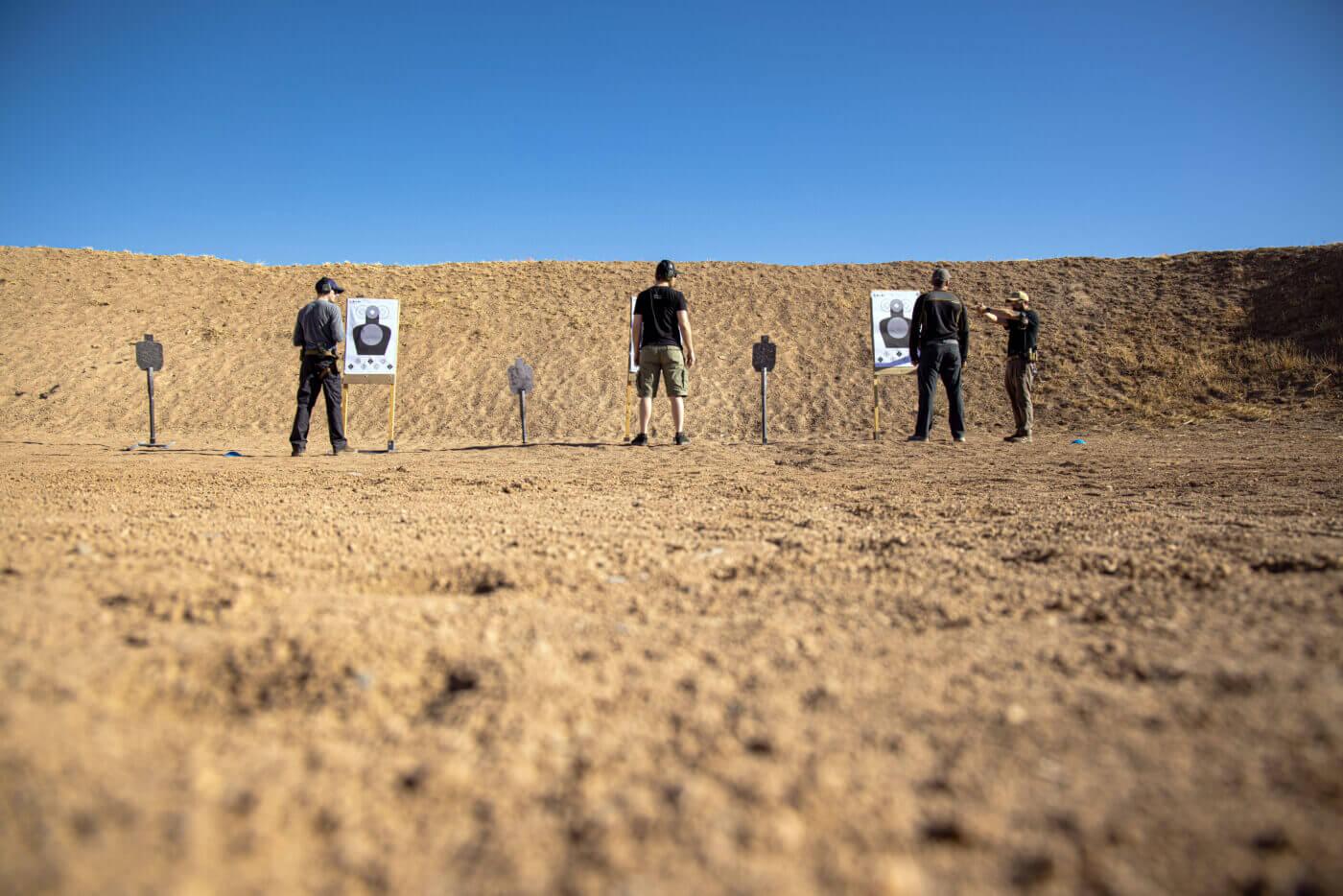 ER Tactical pistol training