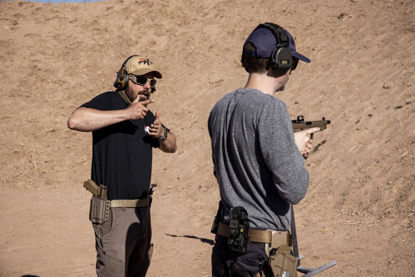 ER Tactical handgun training