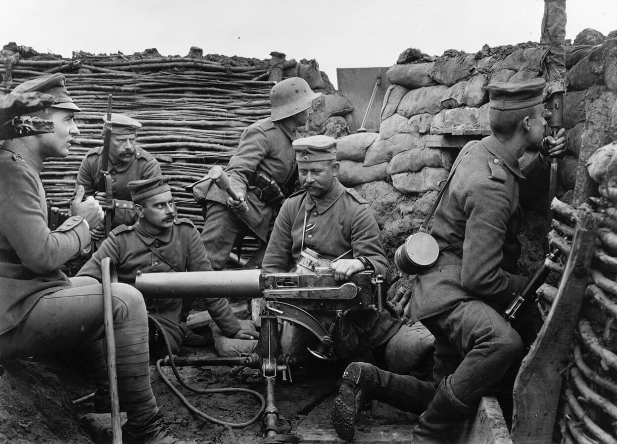 MG08 in trench