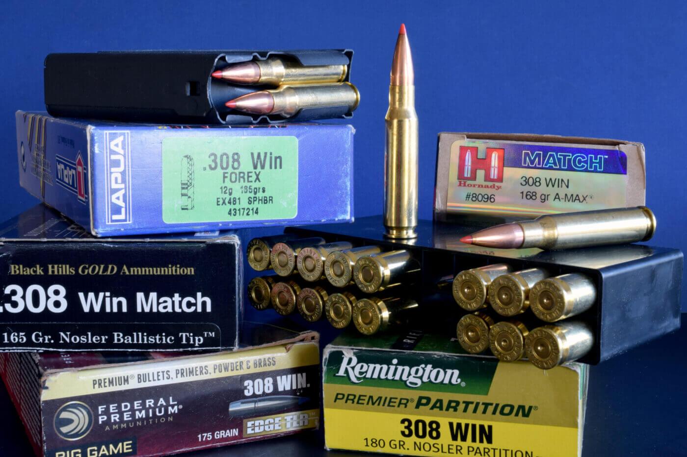 Pile of factory ammunition