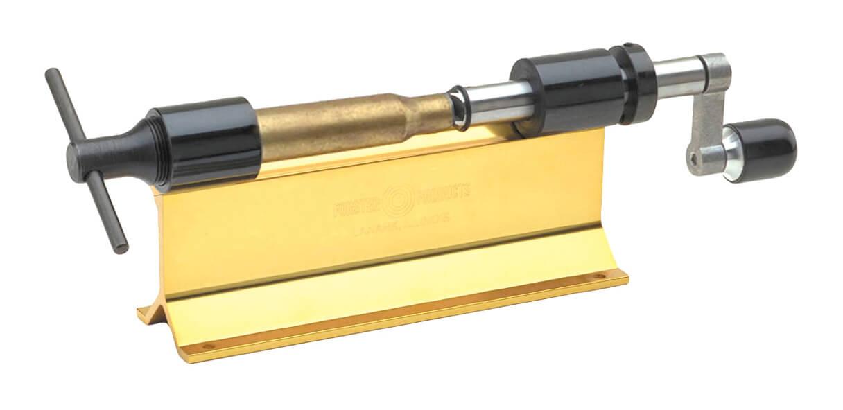 Trimming rifle brass