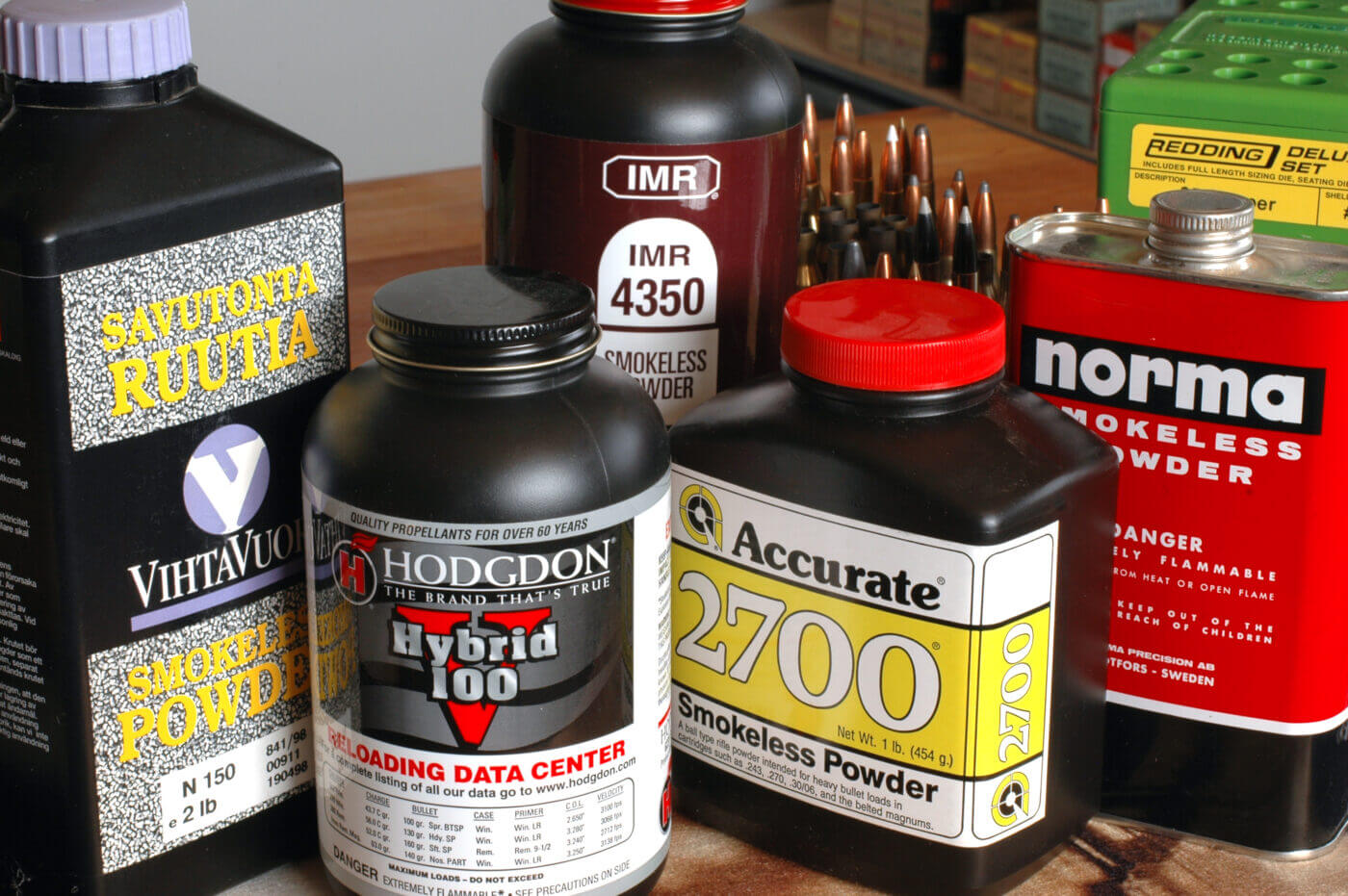 Powder choices for rifle loading