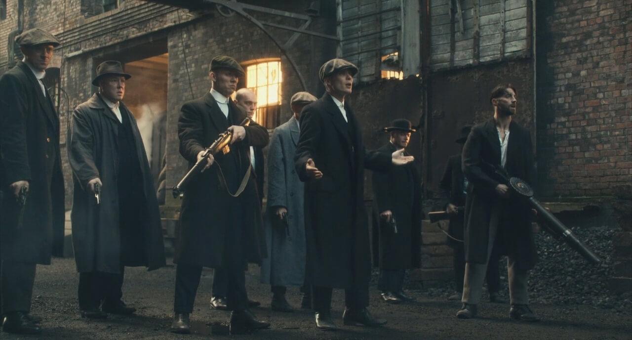 Lewis Machine Gun in Peaky Blinders