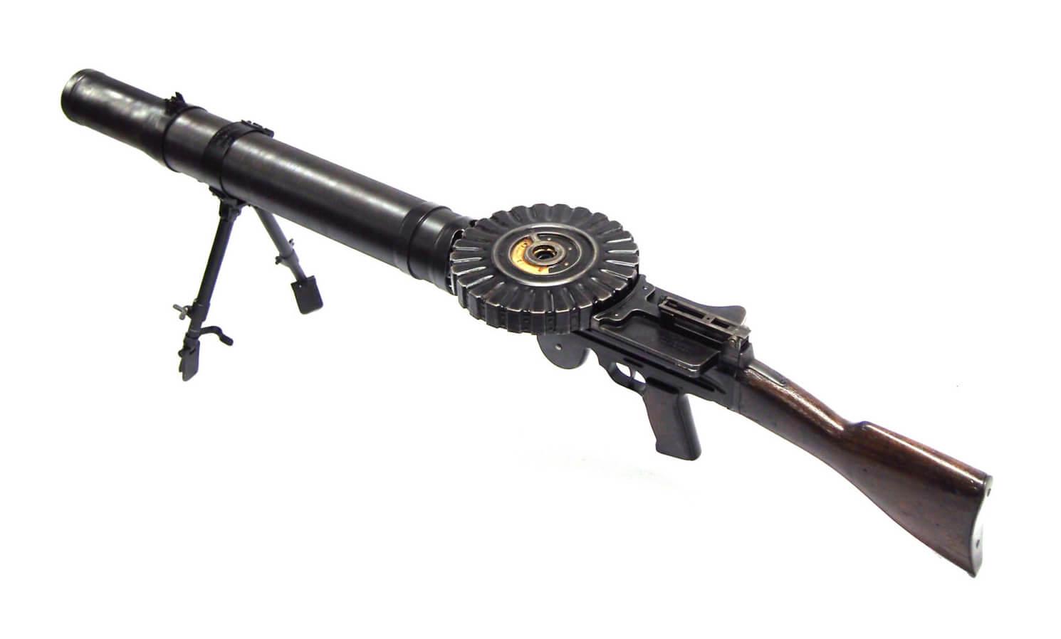 Lewis Gun for airship defense