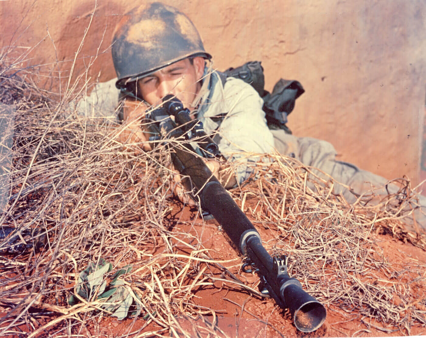 M1C sniper rifle in WWII