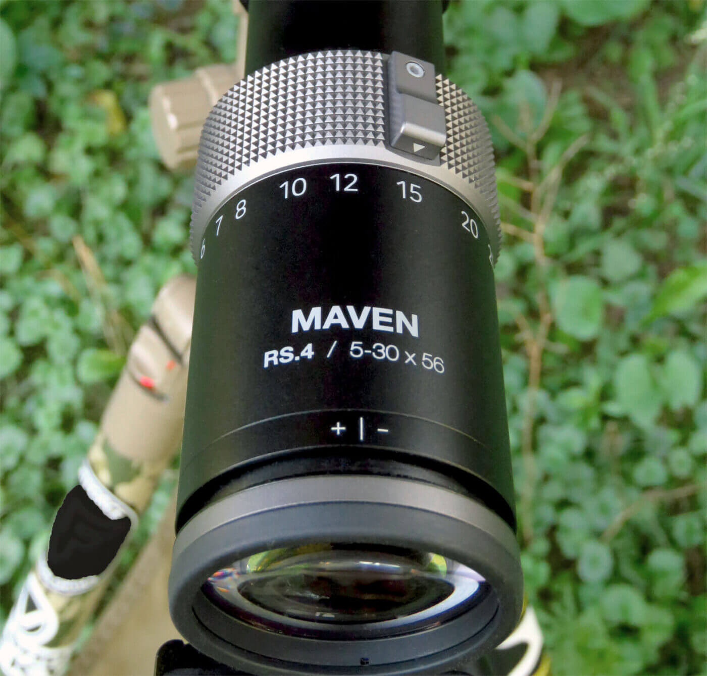 Eye relief on Maven RS.4 scope