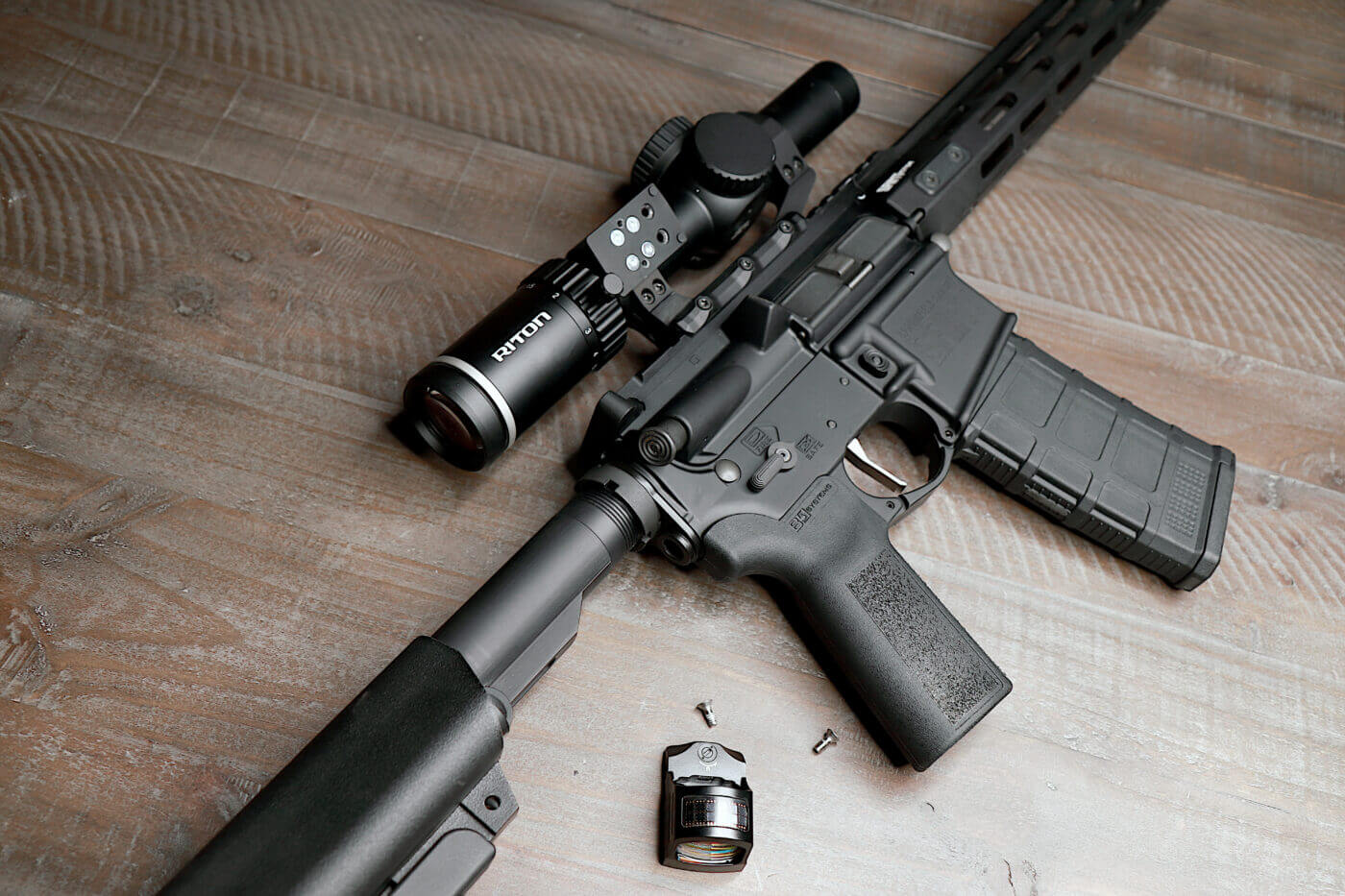 Using the Valhalla Tactical Hanger Mount