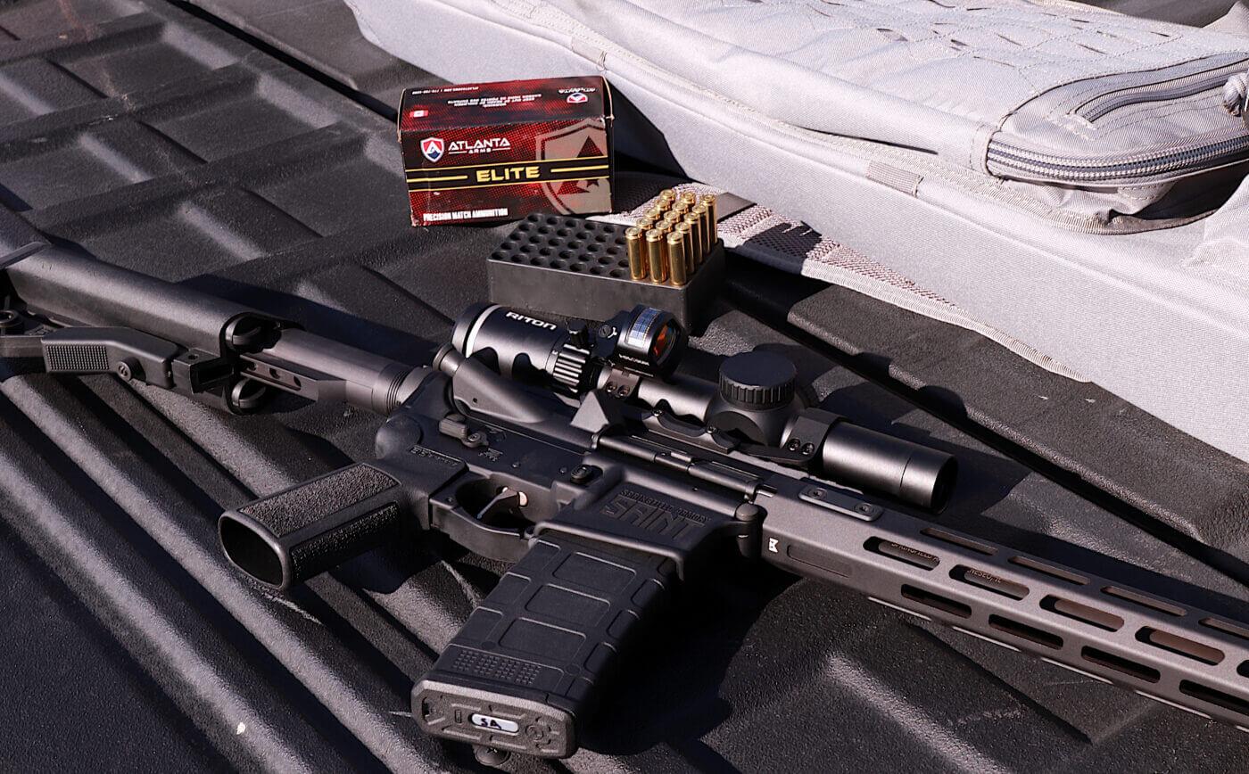 Atlanta Arms ammo with Springfield Armory SAINT rifle