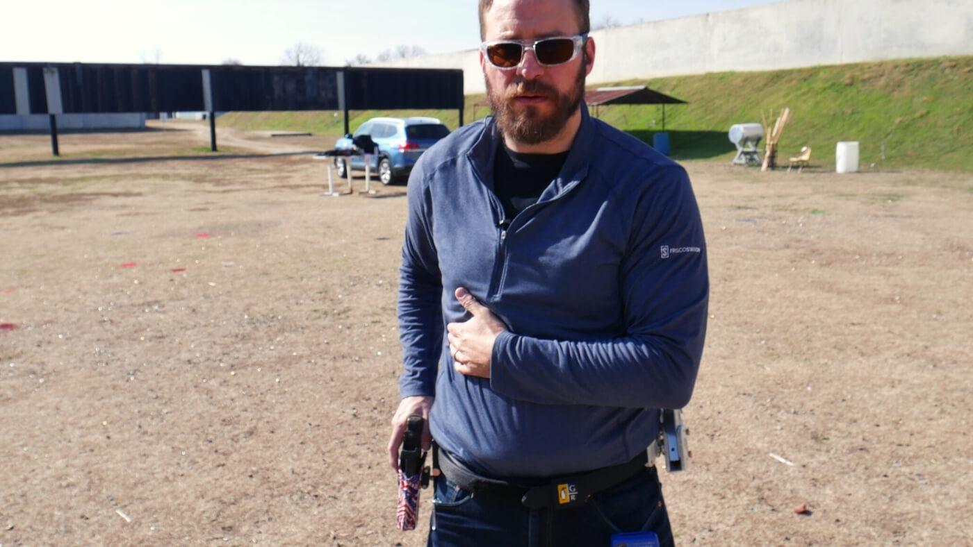 Grasping gun to draw in match