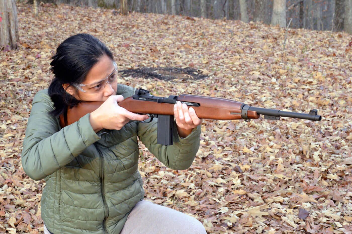Springfield Armory M1 Carbine BB gun testing