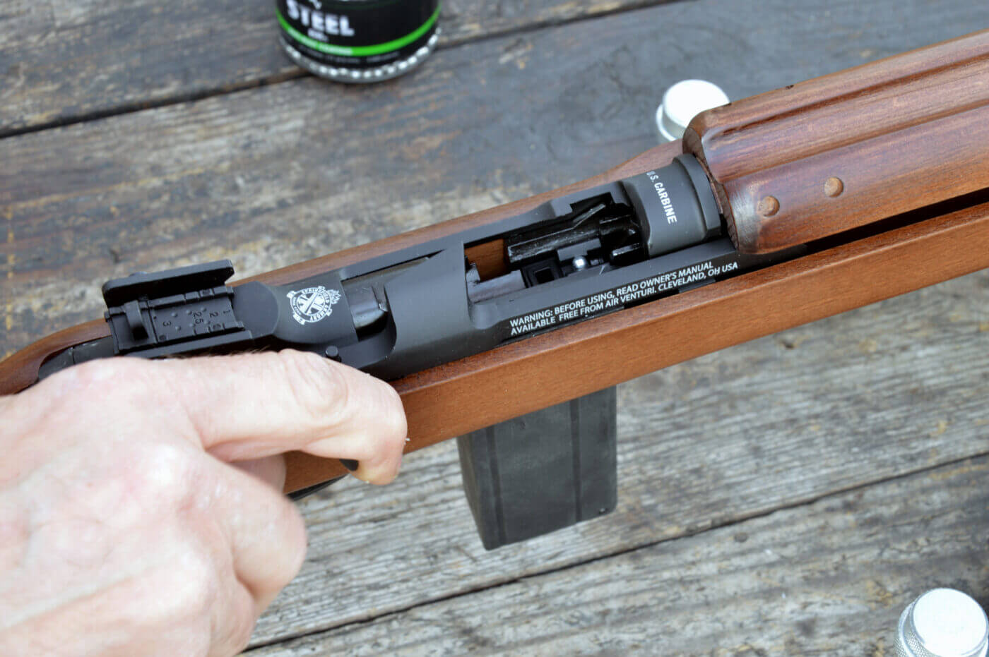 Loading M1 Carbine BB gun