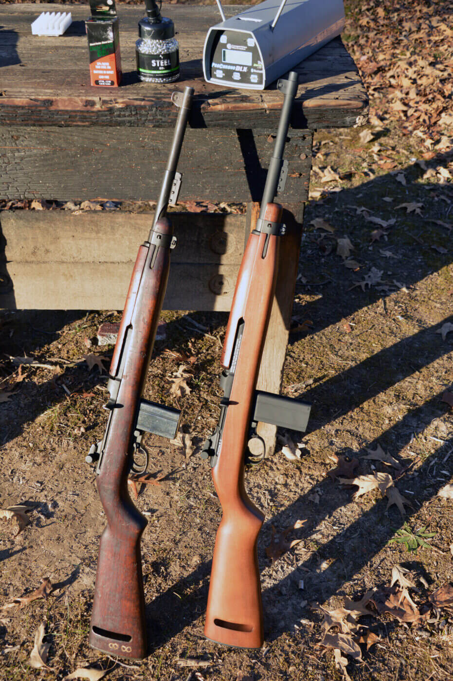 M1 Carbine BB gun compared to real rifle