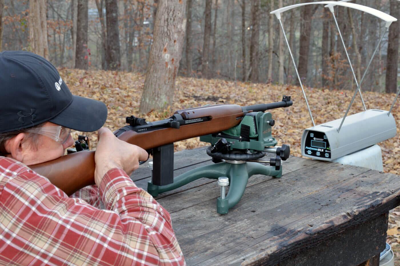 Velocity testing Springfield Armory M1 Carbine BB gun