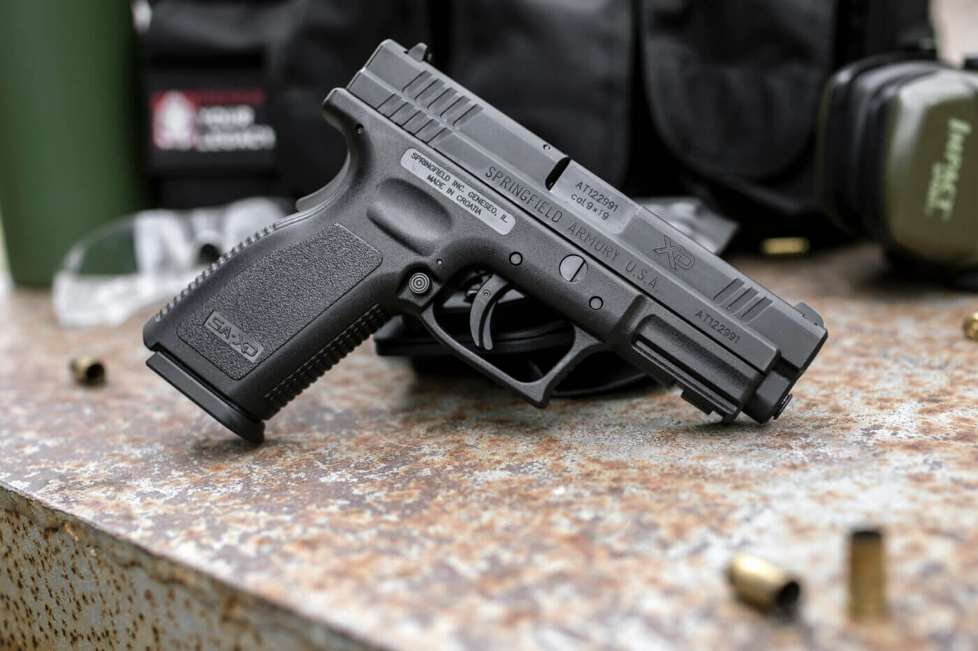 Reviewing the Springfield Armory XD 9mm pistol