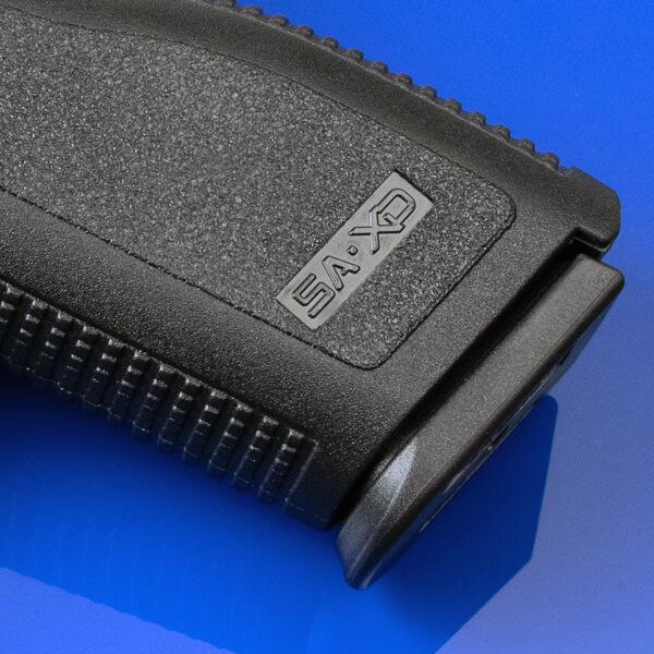 Springfield Armory XD grip closeup