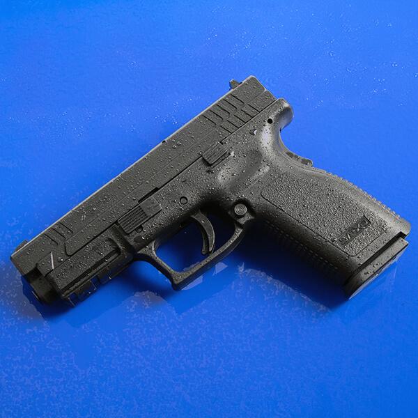 All weather XD pistol