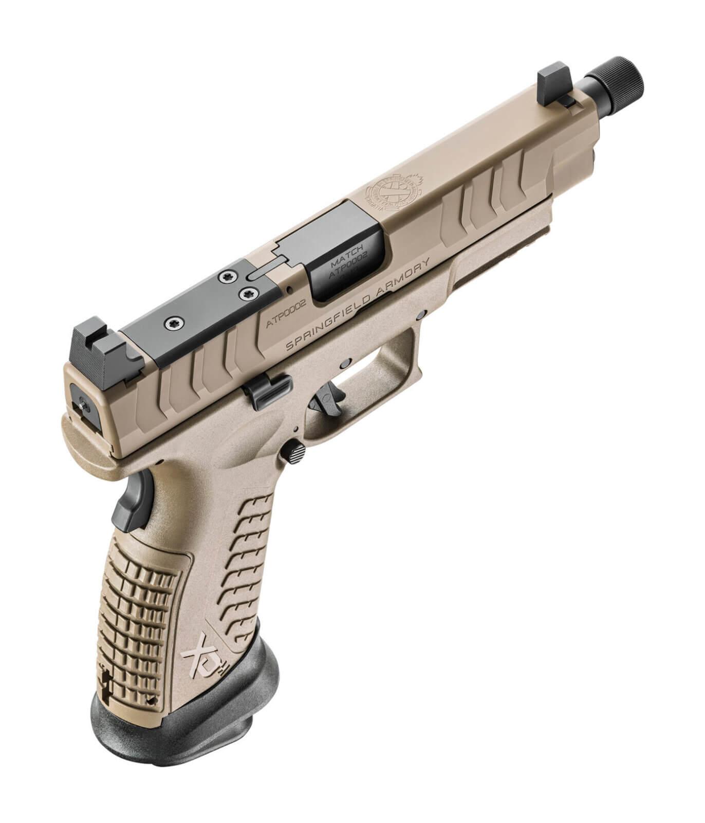 Springfield XD-M Elite Tactical OSP pistol