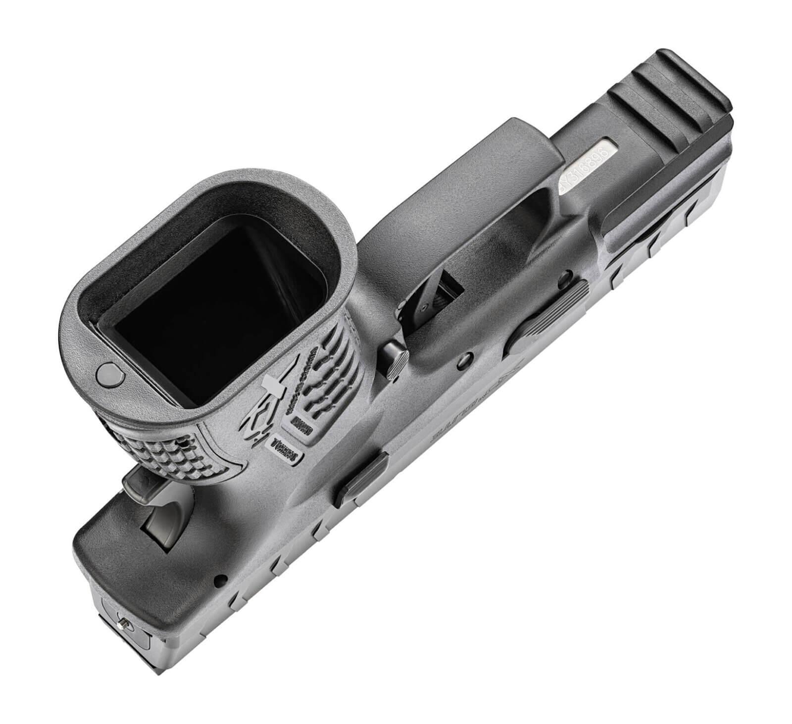 Flared magwell on XD-M Elite pistol