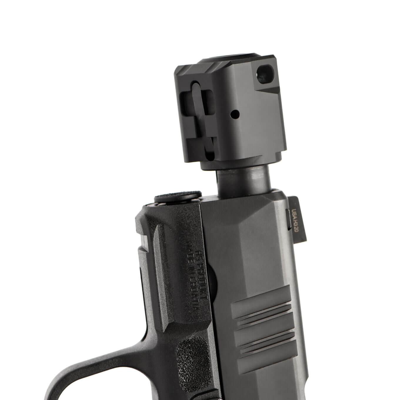 Hellcat compensator muzzle accessory