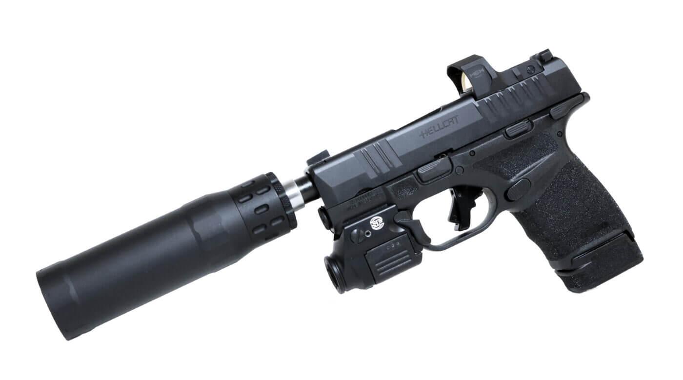 Fully equipped Hellcat RDP pistol