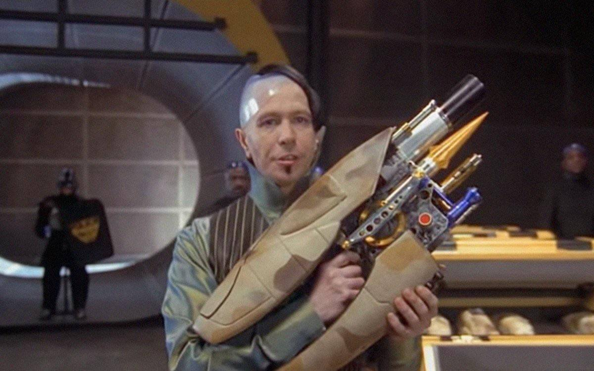 Zorg ZF-1 pod weapon camo from The Fifth Element