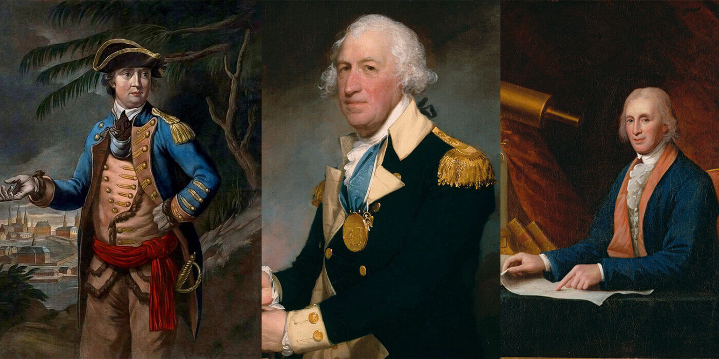 Benedict Arnold, Horatio Gates, and James Rittenhouse