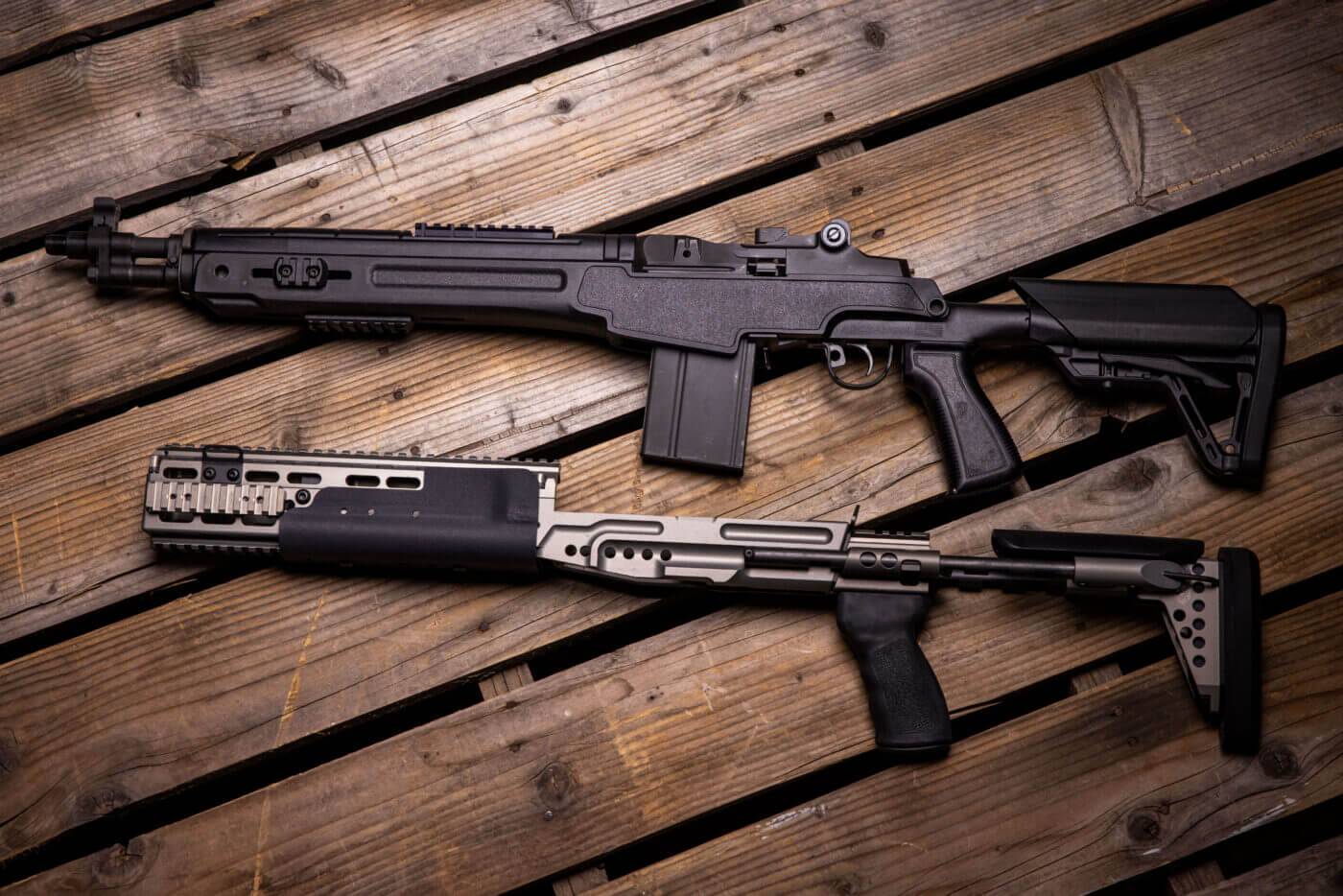 M1A Sage chassis rifle stock