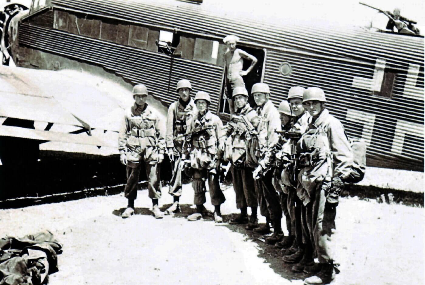 Nazi paratroopers Crete