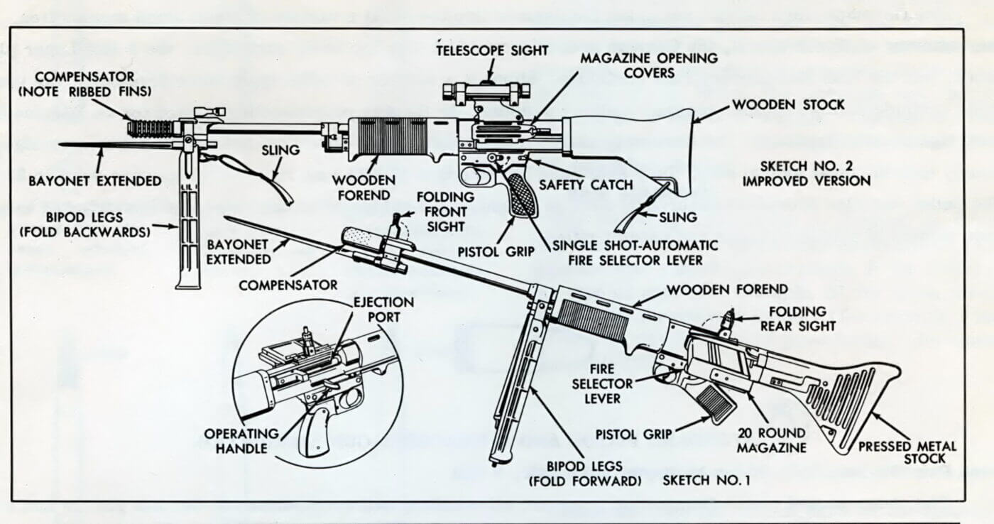 FG42 diagram by U.S. Ordnance