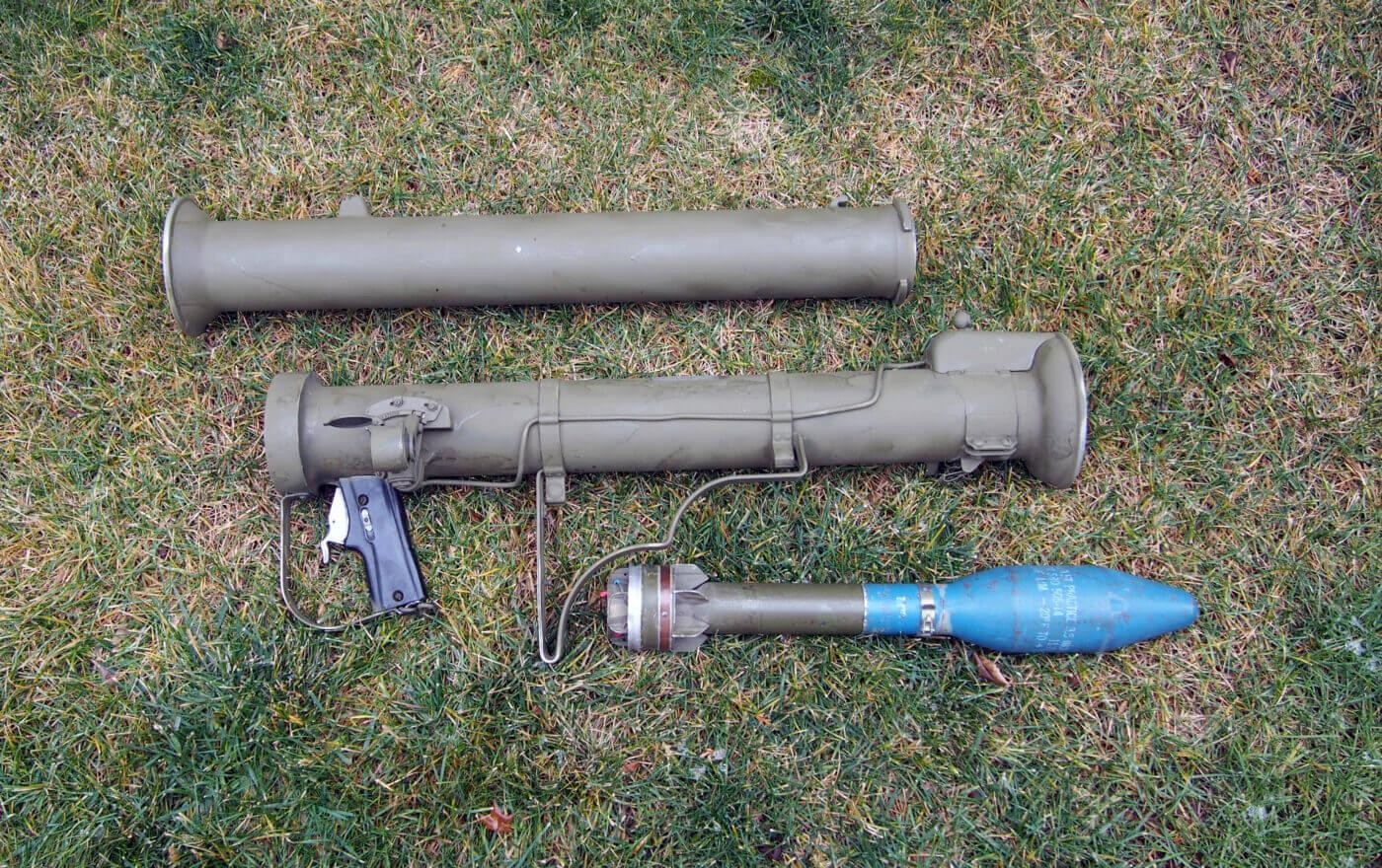 Super bazooka in pieces