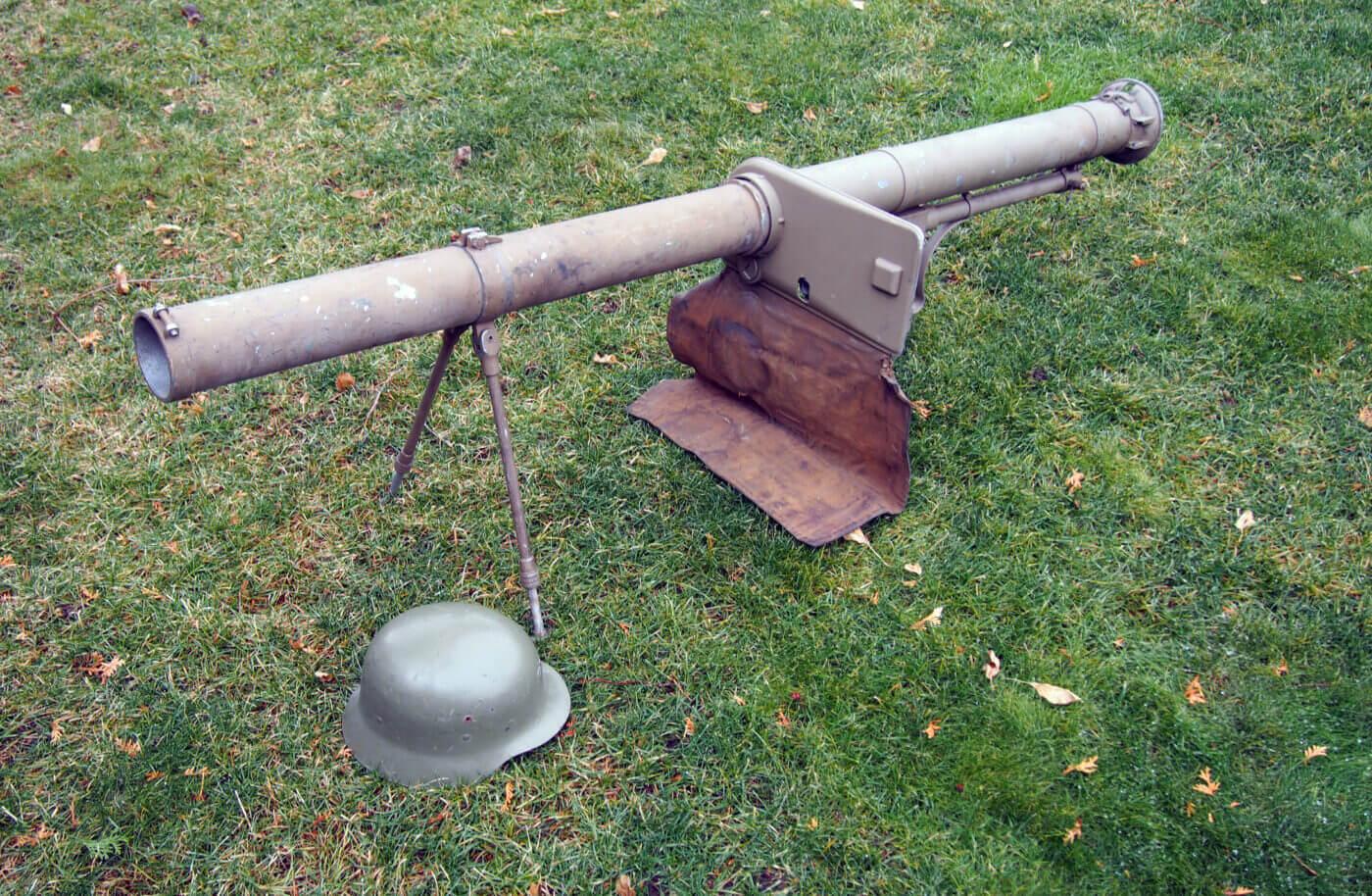 Spanish Instalaza M65 anti-tank launcher
