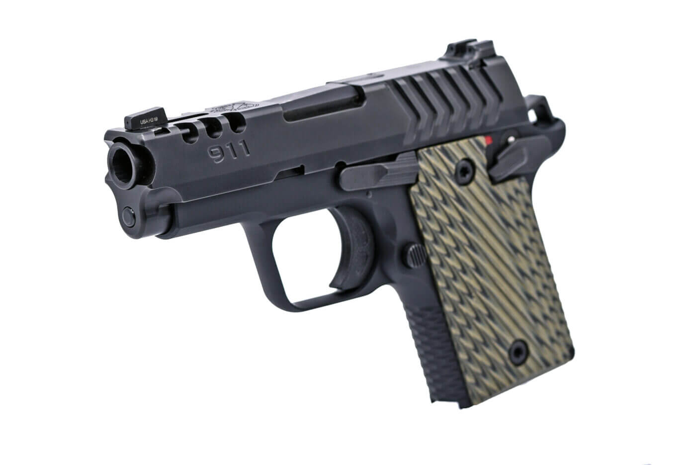 Cobra cut on 911 pistol