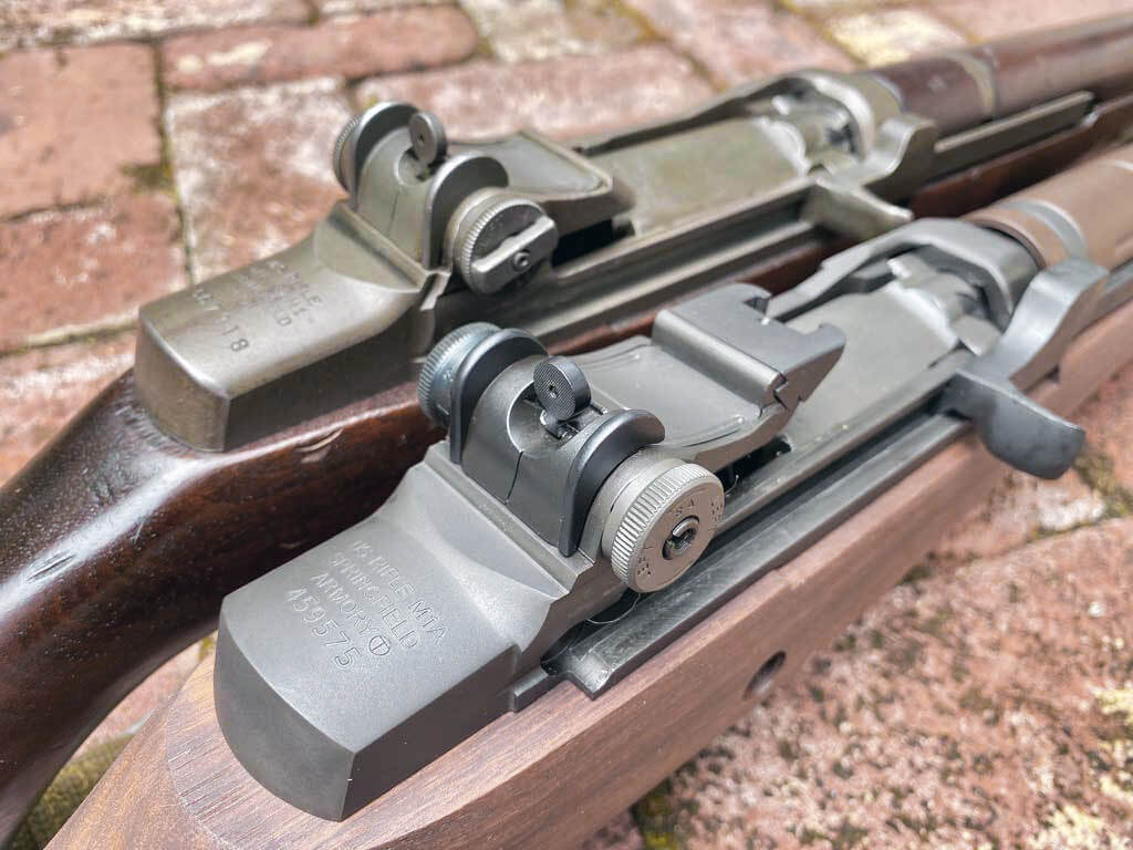 M1A and M1 Garand rear sights