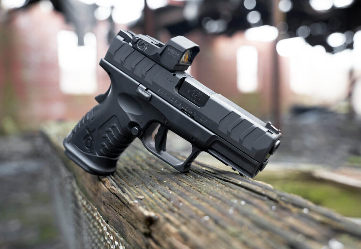 "Springfield Armory XD-M Elite 3.8"" Compact OSP pistol"