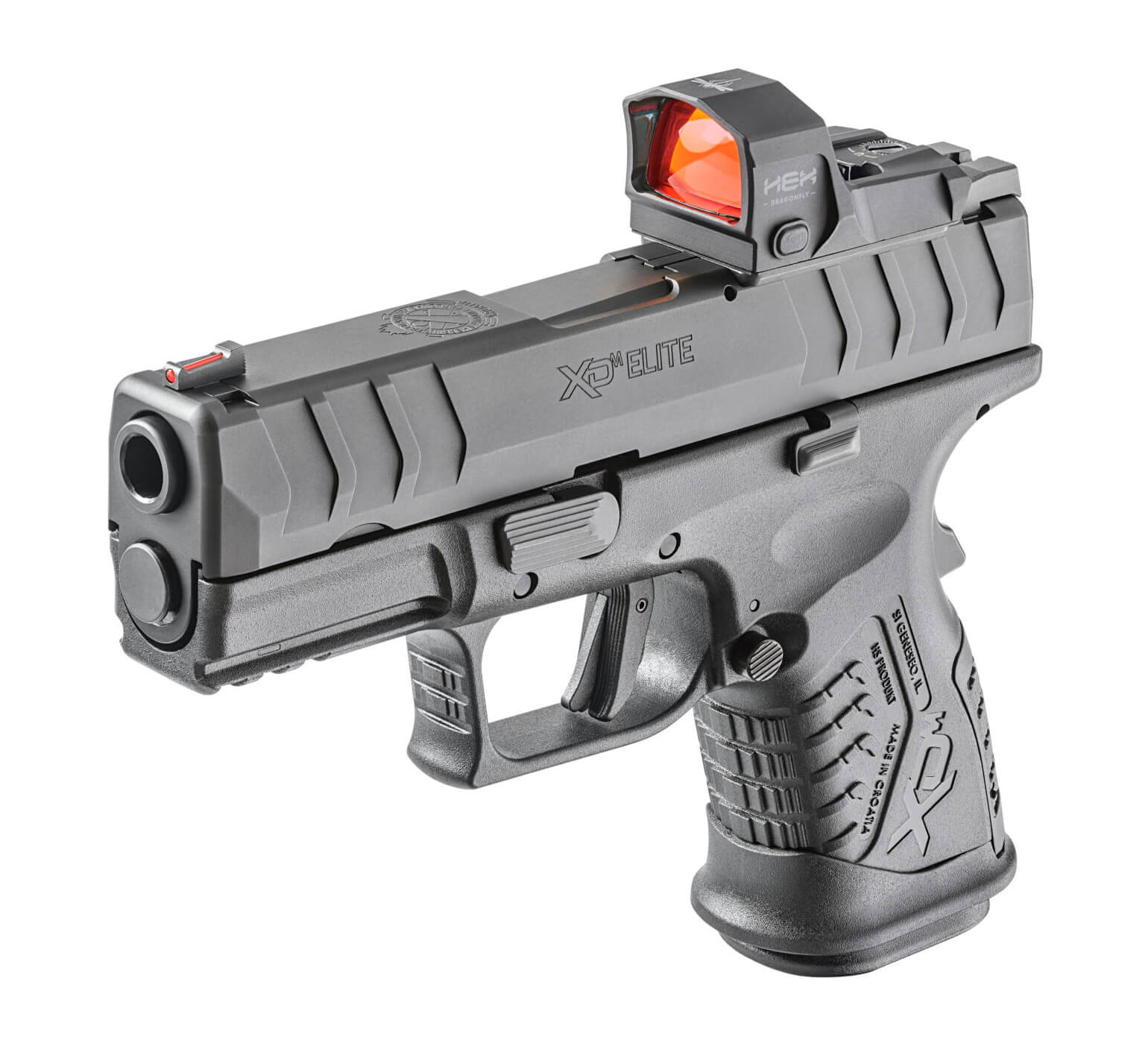 """Springfield XD-M Elite 3.8"""" Compact OSP 9mm package with optic"""