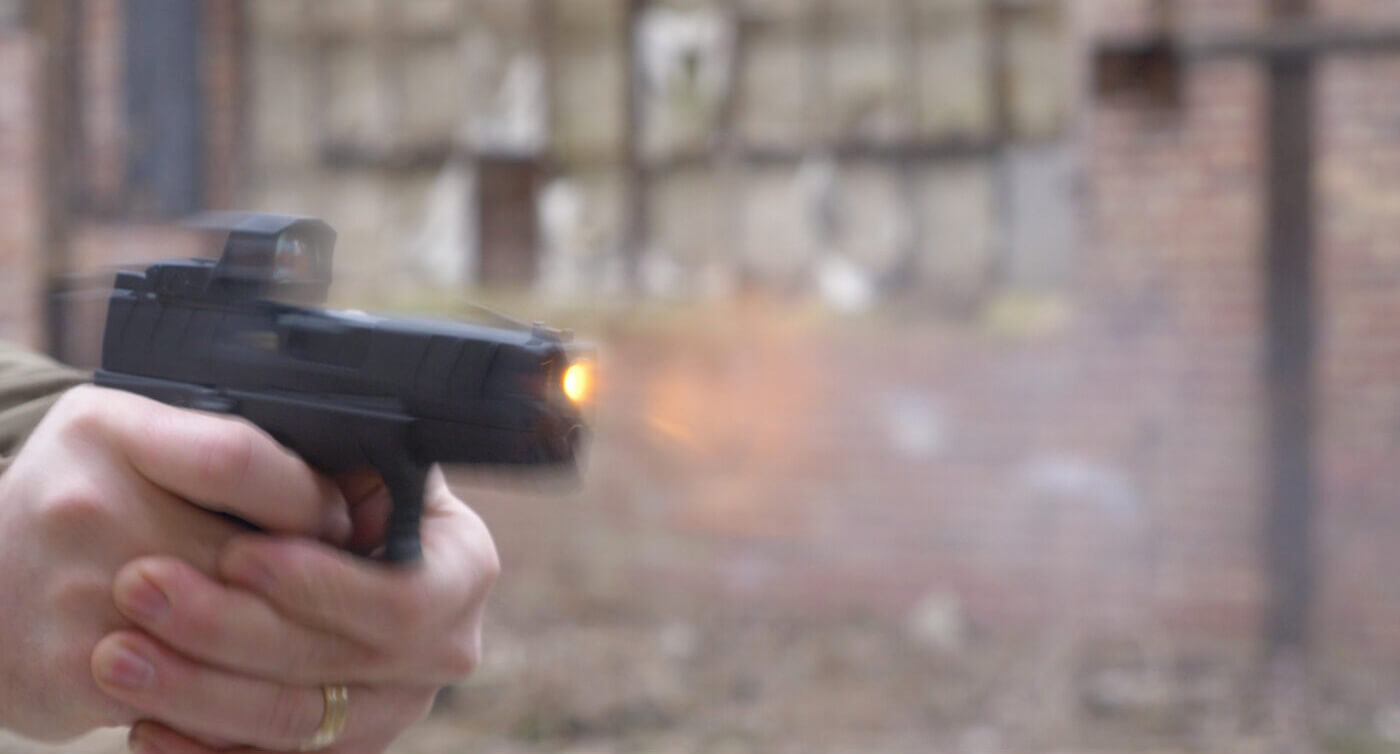 """Shooting the Springfield XD-M Elite 3.8"""" Compact OSP on the range"""