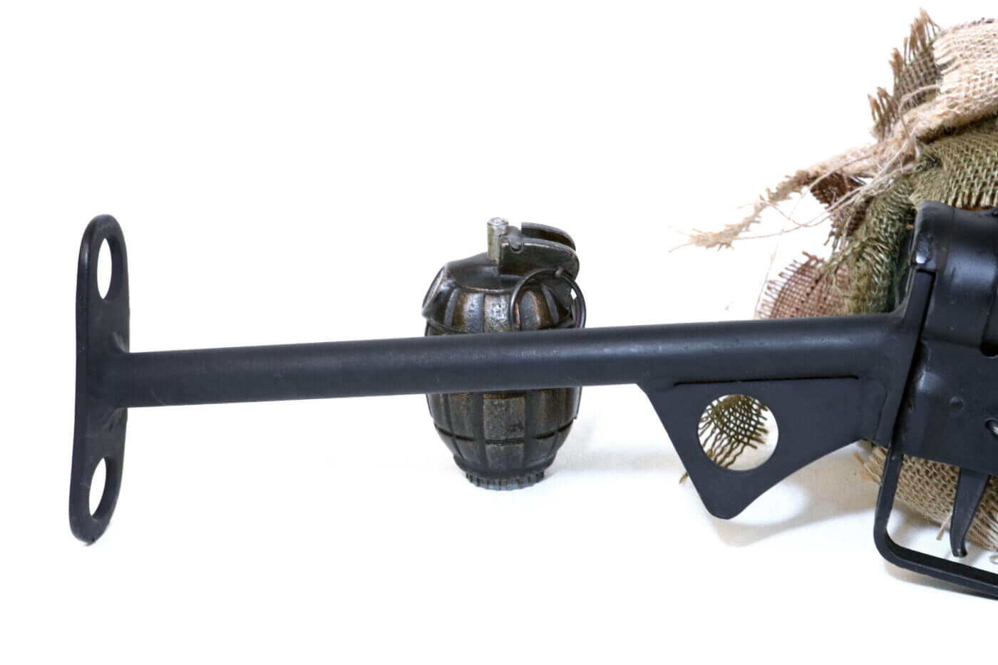 Crude T-stock on Sten gun