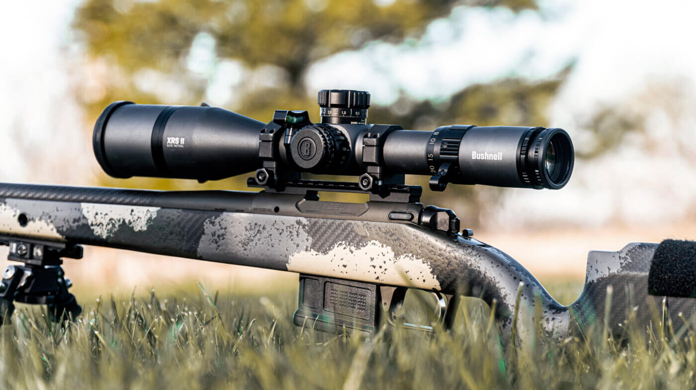 Bushnell Elite Tactical XRS II mounted on Springfield Armory Waypoint rifle