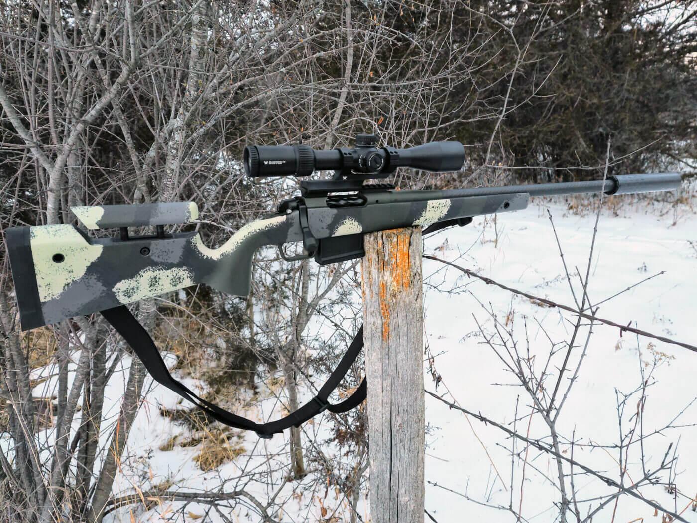 Lightweight Springfield Armory hunting rifle