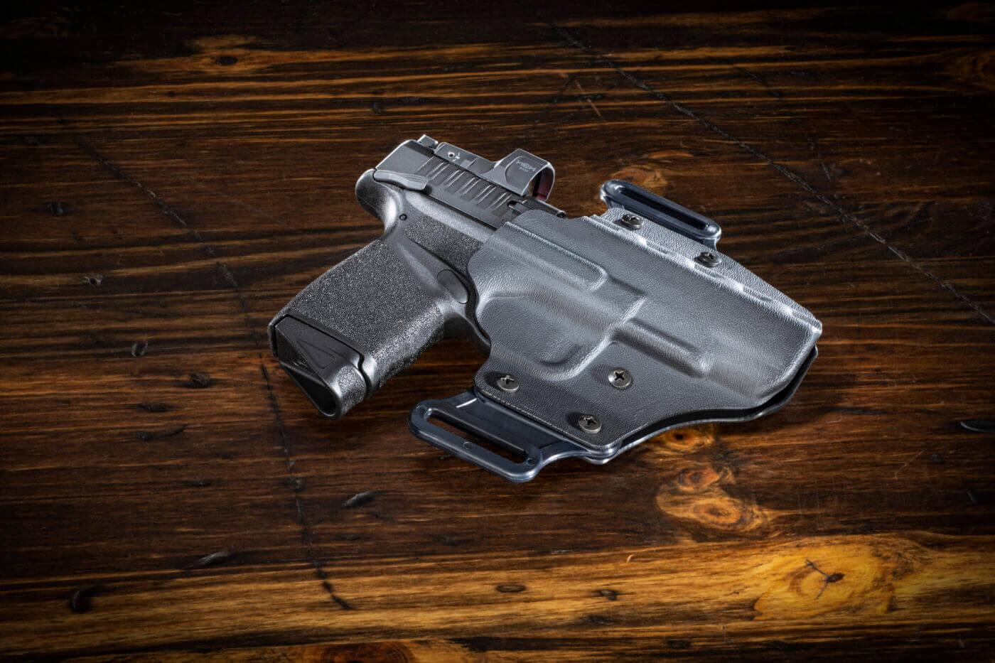 DeSantis Veiled Partner holster with Hellcat RDP pistol