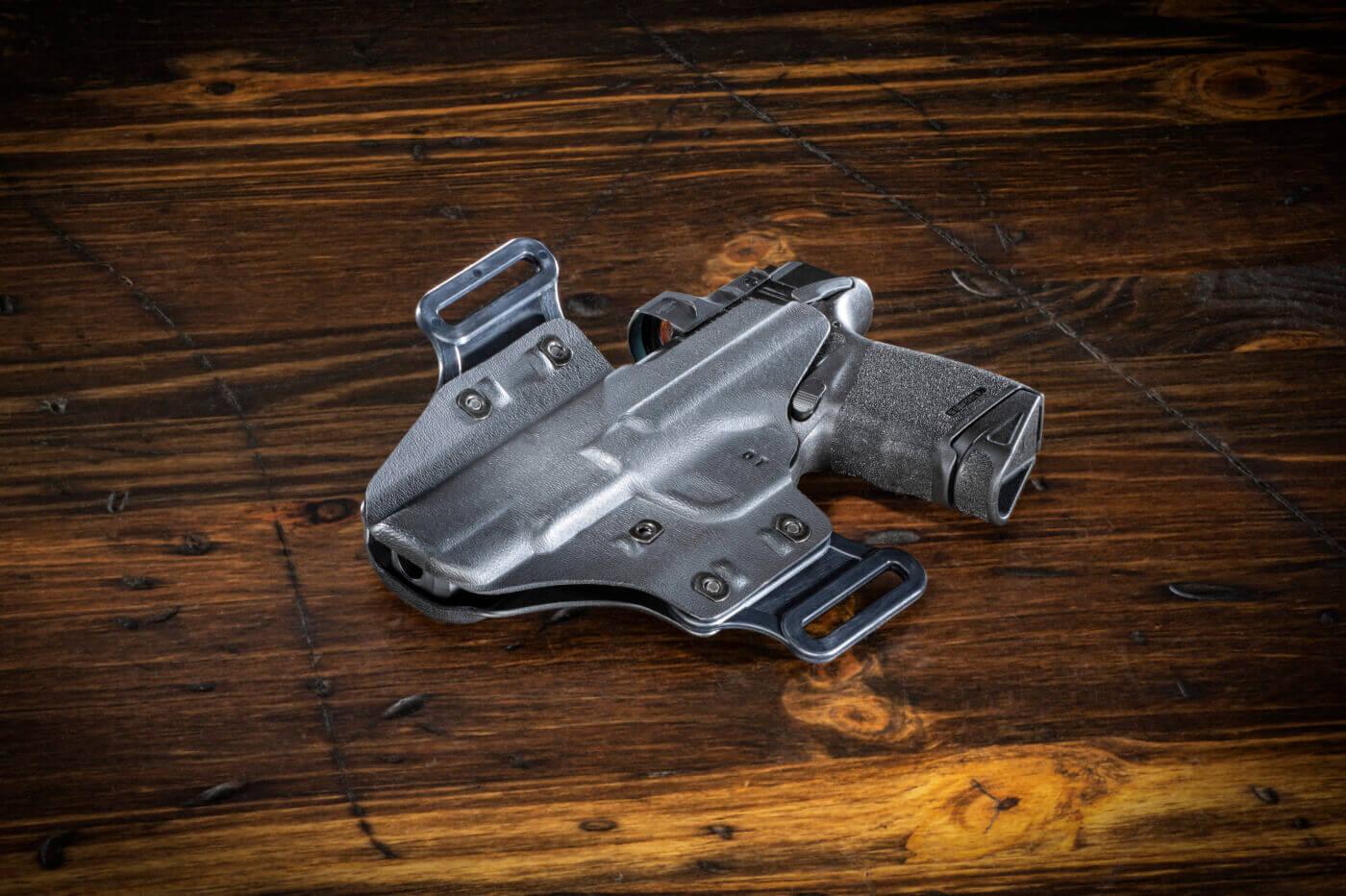 DeSantis kydex holster with Hellcat pistol