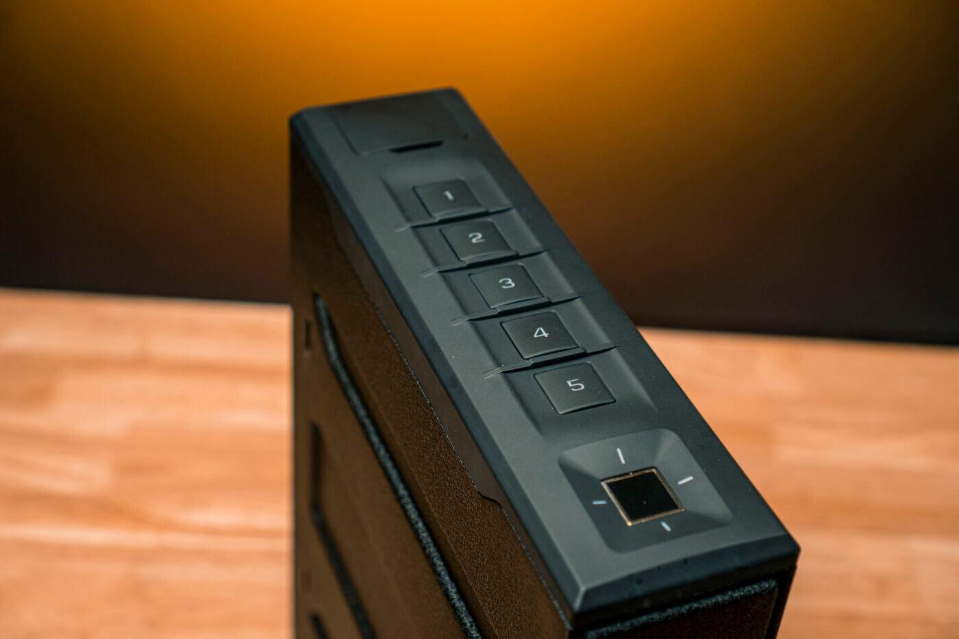 Vaultek Slider Series safe controls