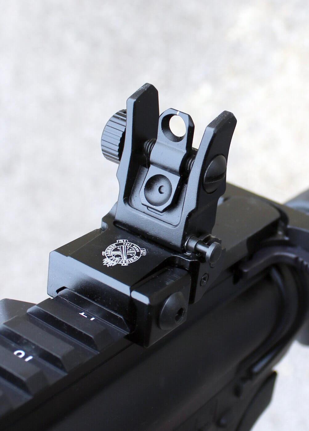 Springfield SAINT rear sight