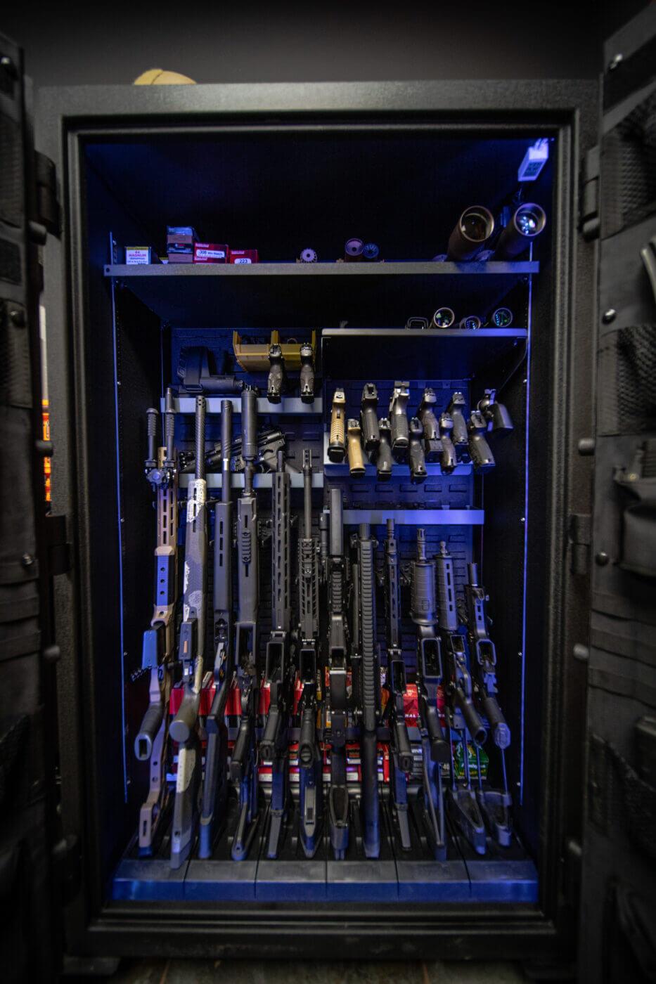Common sense gun storage solution