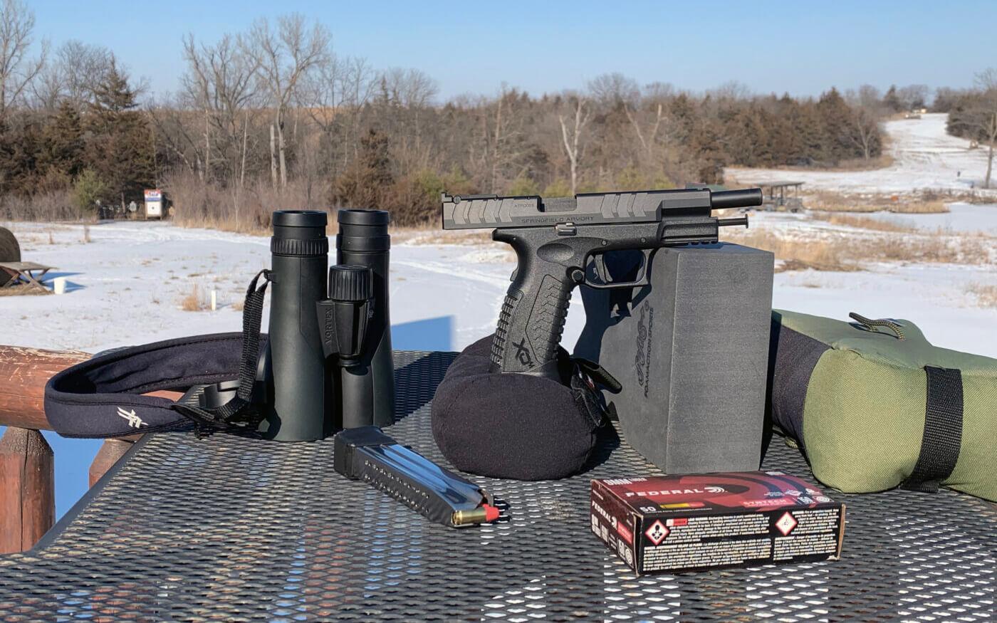 Long distance shooting gear