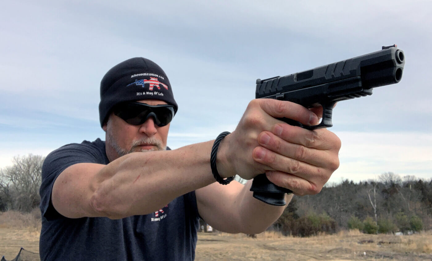 Shooting the XD-M Elite Competition at 200 yards