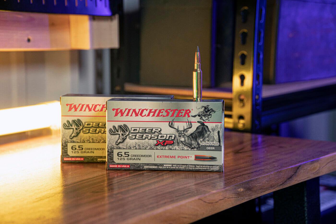 Winchester Deer Season XP ammo in 6.5 Creedmoor