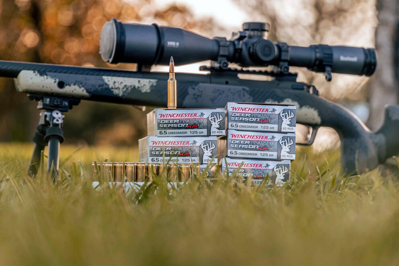 Deer Hunter XP 6.5 Creedmoor with Waypoint rifle
